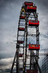 Wiener Riesenrad - Vienna Ferris Wheel (CamelKW) Tags: vienna wien wheel austria ferris wienerriesenrad viennaferriswheel viennasalzburgmunich