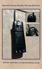 Radio holster (Smith Leatherworks) Tags: leather radio strap custom holster flickrandroidapp:filter=none