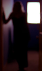 I Will Step Out of This Blurred Darkness (Christina Ann VanMeter) Tags: selfportrait dark blurry outoffocus