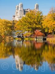 Turtle Pond in Central Park, New York City (jag9889) Tags: park nyc newyorkcity autumn usa ny newyork fall colors landscape pond unitedstates centralpark manhattan unitedstatesofamerica landmark foliage cp 2014 nycparks jag9889 20141110