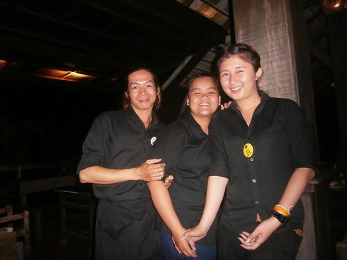 "Staff at the ""Lemon Tree"""