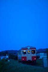 Isumi Rail #021 (Yoshi T. (kagirohi)) Tags: japan japanese chiba isumi rail isumirail railway railroad canon eos 5d mark iii canoneos5dmarkiii ef70200mmf28lisiiusm localline train tram diesel landscape