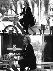 [La Mia Citt][Pedala] con il BikeMi (Urca) Tags: milano italia 2016 bicicletta pedalare ciclista nikondigitale mir bike bicycle biancoenero blackandwhite bn bw ritrattostradale portrait dittico 872144 bikemi bikesharing