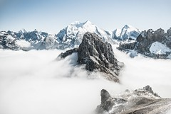 #PicOfTheDay Rocky peak (Candidman) Tags: mountain snow mountains rocks rocky peak snowcapped range