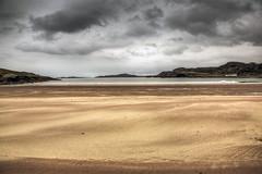 Clashnessie Beach (Teuchter Prof) Tags: clashnessie clashnessiebeach beach sand sandybeach contrastingsandcolours sky stormysky assynt westcoastscotland sutherland scotland