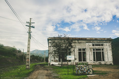 (Jonhatan Photography) Tags: paisaje canon chile cannondale explorer cross bike abandoned flickr