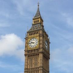 Big Ben (Leo Reynolds) Tags: xleol30x iphoneography iphone 5s iphone5s bigben clock