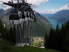 Blick  vom  Zwlferkopf (Karwendel)  auf den  Achensee (Ostseetroll) Tags: achensee aut geo:lat=4742735573 geo:lon=1169603060 geotagged sterreich pertisau tirol karwendelbergbahn zwlferkopf