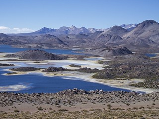 Région d'Arica, Parc Lauca, Laguna Cotacotani