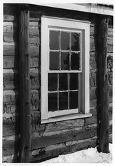 84003288-9 (nrhpphotos) Tags: presbyterianchurch logbuilding window