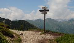 Bergwege (johannes woi) Tags: landschaft landscape wegweiser way berg mountain italien ahrntal weg richtung direction orientierung orientation