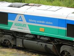 66711_03 (Transrail) Tags: class66 emd shed diesel locomotive coco gbrf tonbridge gbrailfreight 66711 aggregateindustries sence
