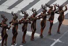 Celebrating Christmas in August at Radio City Music Hall with the Rockettes and Santa (AndrewDallos) Tags: nyc new york city manhattan santa rockettes radio music hall august christmas