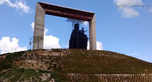 Monumento Manto de Maria Barquisimeto Venezuela