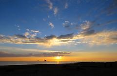 IMG_0090x (gzammarchi) Tags: italia paesaggio natura mare ravenna lidodidante alba sole nuvola riflesso