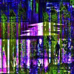 City repeats (Lemon~art) Tags: city london pattern repeats streetcafe layers manipulation