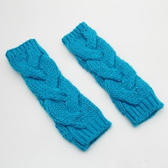 Winter wrist+armwarmer: Dreamriver (heartful-twist) Tags: heartfultwist knitting knit knitaccessories cosy crocheted knitted pattern blue classic yarn armwarmer wristwarmer warmer wrist