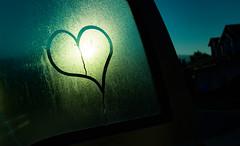 love the light (auntneecey) Tags: heart love lovethelight window