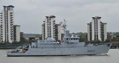 FS Cephee M652 (7) @ Gallions Reach 16-09-16 (AJBC_1) Tags: riverthames gallionsreach london frenchnavy minesweeper military warship ©ajc dlrblog ship boat vessel england unitedkingdom uk navy navalvessel northwoolwich eastlondon newham minehunter mcv londonboroughofnewham fscephee m652 tripartiteclassminehunter nikond3200