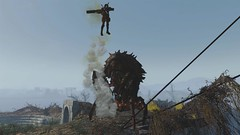 Fallout4 - Queen of The Castle (tend2it) Tags: fallout4 fallout 4 rpg game pc ps4 xbox screenshot screenarchery reshade postprocessing injector nuclear apocalyptic future mirelurk queen castle minutemen elize