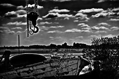 Attention, accrochez-vous !!! (Patevy Damant) Tags: aquitaine arcachon bw d610 exterieur jour nb nikon nuages monochrome