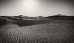 Ocean of sand (Tiigra) Tags: murqquab dubai unitedarabemirates ae 2013 color landscape mountain nature shadow shape texture pattern