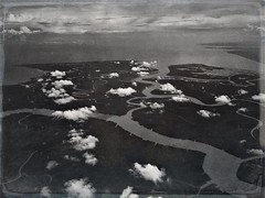 Where the #Mekong #River empties into the ocean. #iphone #onassignment #natgeo #natgeolandscape #nytimestravel #travel #travelphotography #travelphotographer #guardiantravelsnaps #arial #blackandwhite http://ift.tt/2d2bEH4 (vietnam-photographer) Tags: vietnam photographer ho chi minh city hanoi thailand cambodia laos corporate industrial portrait travel editorial