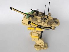 M1 Abrams mech (Sunder_59) Tags: lego moc render blender3d mecabricks abrams tank mech mecha military scifi usa