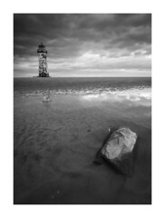 (javier mascareas) Tags: black white blackwhite nikond7000 lighthouses tokin1116 seascape landscape wales greatbritain