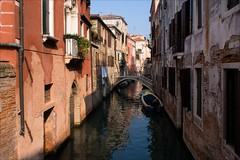 P9242641 Italy Venice (Dave Curtis) Tags: 2013 em5 europe italy omd olympus venice canal bridge boat