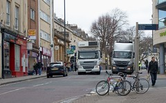 Streets Fit For Pedestrians 03 (samsaundersleeds) Tags: traffic pedestrians cliftonvillage carparking deliveries