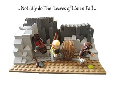 LEGO - Not idly do the leaves of Lorien fall (PuCCi0) Tags: google lego lotr lordoftherings aragorn tolkien gimli fellowship legolas lorien googleimages notidlydotheleavesoflorienfall legolordoftherings legolotr tolkienlego legothetwotowers lordoftheringsinlego