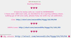 KittyCats (Terrariea) Tags: pet cats pets home animal animals shop cat store kitten feline kitty kittens pebbles sl size secondlife kitteh breed darlings darling cutecat kittys pedigree kittycats kittycat cutekitten 2ndlife cattery catlab catfriends amazingcat catfamily catfriend vitural speciall virtualimage breedable virtualcat breedables kittycatssl kittycatsaddicts terrariea kittycatsaddict primpet primanimal virturalimages virturalanimal vituralcat vituralcats virturalkitten vituralpet vituralpets vituralimage vituralimages vituralkitten vituralkitties vituralkitte breedablesl virturalkittens
