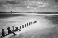 Fear the God of the Sea`s 2_8446 (FoxyPhoto2012) Tags: longexposure england lighthouse seascape water waves northumberland le northsea berwick groynes berwickupontweed fatman foxyphoto foxyphoto2012 fatmanphotographer