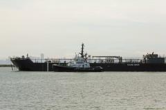 Sause Bros.fuel barge Sunset Bay001 (Walt Barnes) Tags: america canon eos boat ship vessel richmond calif tugboat tug foss barge fuel sanpablobay sunsetbay 60d canoneos60d fuelbarge sausebros eos60d wdbones99