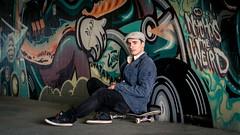 ('Mark Harris') Tags: urban streetart hat fashion germany graffiti cool jacket german kai trendy bielefeld skateboarder