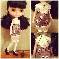 My very best dress yet! #blythe #sewingforblythe
