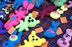 Oopsy Bear! (silverwine) Tags: bear color colour bunnies market bears fair oopsybear