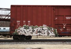 Decor (quiet-silence) Tags: railroad art train graffiti railcar boxcar graff decor freight sry bhg fr8 dhp sry5144