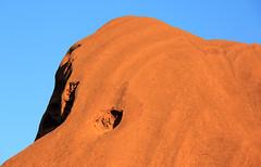 detail geology Ayers Rock Uluru Kata Tjuta National Park NT 2013_8122 (gervo1865_2 - LJ Gervasoni) Tags: park red heritage landscape march desert centre central australia national uluru kata tjuta geology northern monolith cultural territory 2013 photographerljgervasoni