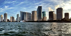 Miami Skyline (miamism) Tags: miamiviews miamiskyline miamiarchitecture miamicondos miamirealestate miamisky miamiboating miamisms
