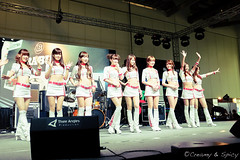 Racequeens @Tokyo Auto Salon 2013 [2013.Apr.13] (Jiyeone) Tags: girls sexy cars beautiful japan 35mm singapore pretty taiwan racequeen x100 23mm x100s