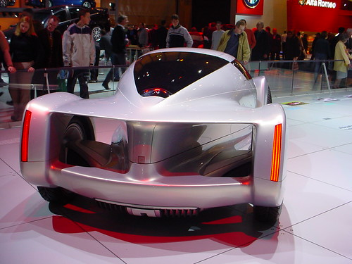 2002 General Motors Hy Wire Concept Car 2002 Uk Motor Show A