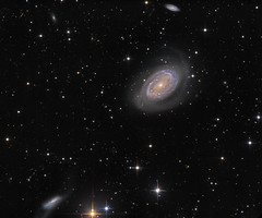 One-Armed Spiral Galaxy NGC 4725 (Oleg Bryzgalov) Tags: deepspace astrophoto Astrometrydotnet:status=solved ngc4725 Astrometrydotnet:version=14400 astro:subject=ngc4725 competition:astrophoto=2013 Astrometrydotnet:id=alpha20130497189203 ngc4747 ngc4712 astro:gmt=20130419t0126