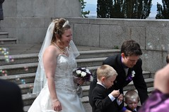 Bubbles for the boys (bryanpage) Tags: flowers wedding tiara children groom bride harrison veil dress steps bubbles zachary bouquet weddingdress bridegroom harrisonhendrixpage harrisonpage bryanpage williamsonpark ashtonmemorial michellepage zacharyzebastianpage zacharypage
