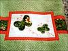 """TTBP_BORBOLETAS3 (""""ARTEIRICES"""" By RÔ IANGUAS) Tags: verde shower borboletas presentes bege aplique toalhas fuxicos customização jogosdetoalhas jogosdebanho"""