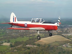 Chipmunk Air to Air (gooey_lewy) Tags: de major break general britain aircraft air meeting battle chipmunk locomotive annual society trainer agm gipsy havilland bbls