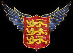 Stylized Grunge Emblem - Royal Arms of England (Free Grunge Textures - www.freestock.ca) Tags: old uk blue original red england black english history texture yellow vintage emblem design wings ancient heraldry arms graphic image britain antique decay unique decorative background coat grunge united great stock banner grain decoration wing creative lion picture royal free kingdom parchment medieval crest historic seal worn lions customized backdrop historical british sheet shield isolation aged middle insignia graininess ages middleages royalty isolated monarchy stylized resource textured grungy passant heraldic escutcheon freestockca