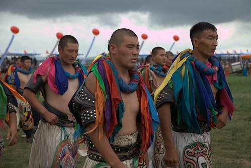 Bökh (Mongolian Wrestling)