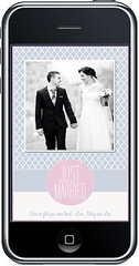 Sweet Greets Marriage Announcement Photocards (Sweet Greets Studios) Tags: wedding justmarried weddingannouncement photocard marriageannouncement